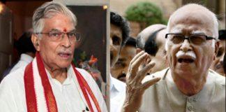 Lal Krishna Advani Murli Manohar Joshi