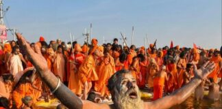 first-bath-of-maha-kumbh-on-14-january