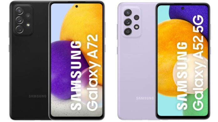 Samsung's three new models launched galaxy A52, galaxy A52 5G and galaxy A72